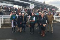 All smiles in the winners enclosure!