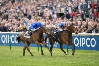 Legatissimo winning the 1000 Guineas this year under Ryan Moore