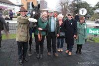 Oliver Sherwood with Owners and their winner