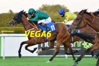 Lady De Vega wins her first race