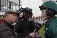 At The Races interviewing Josh