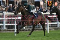 Dragons Voice wins under a fine ride from Richard Kingscote
