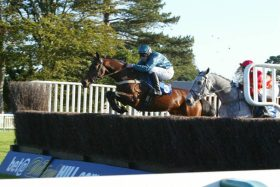 Fruity O'Rooney wins for the first time over fences at Fontwell Park