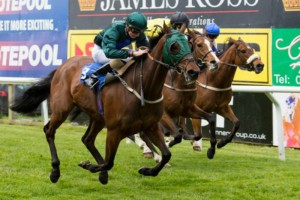 Good Luck Charm wins his fifth race