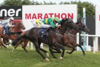 Good Luck Charm wins for the fourth time at Brighton Racecourse