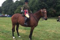 1st in the ROR ridden open at Alresford