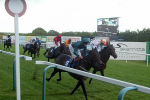 Interakt wins at Brighton Racecourse for the third time under Harry Bentley