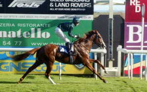 Jupiter Storms wins his first race in style