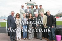 Jupiter Storm's owners gather for the presentation