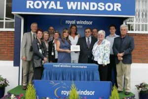 Very happy owners collec their prize at the presentation