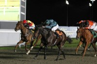 Lightning Spirit wins her first race at Kempton Park