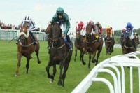 Lightning Spirit wins at Brighton Racecourse under George Baker