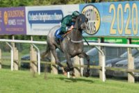 Onehelluvatouch on route to win her first race