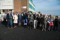 Lots of happy faces at Brighton Racecourse