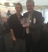 Jon James - winner of Gentlemusic's bowl from Chelmsford this year