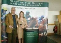Winning owner Robert Reeve in Dynamic Idol