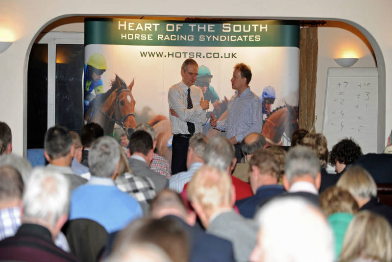 An evening with the handicapper at Mannings Heath Hotel