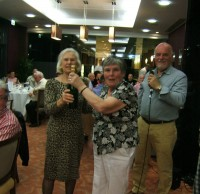 The winning owners of our quiz at the dinner