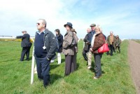 We were lucky enough to have some beautiful sunshine on our trip to the Jersey Guineas meeting