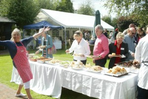 We enjoyed a beautifully delicious hog roast at our Summer BBQ
