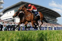 Qualify, trained by AIden O' Brien, wins the Epsom Oaks