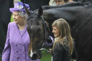 Famous Sole Owner Queen Elizabeth II with Royal Ascot winner