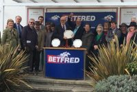 Delighted owners collect their prize!