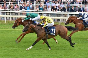 Raven's Lady wins the Group 3 Summer Stakes, York 2018