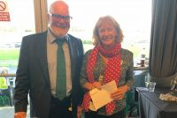 Owner Jackie Thwaites wins 2 tickets to Sandown in our Champion Tipster competition!