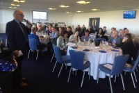 Gathering for our annual Owner Event - this time at Sandown Park!