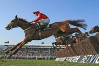 Gary Moore's Sire De Grugy wins the Queen Mother Champion Chase at the Cheltenham Festival