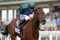 South Cape wins at Ascot Racecourse with Ryan Moore in the saddle