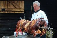 A very delicious hog roast!