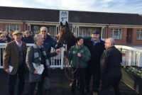 Delighted Owners with their winner