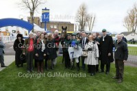 Zambeasy with his owners at Windsor as he wins race number 5