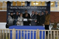 Lots of owners were in attendance to celebrate their horses win
